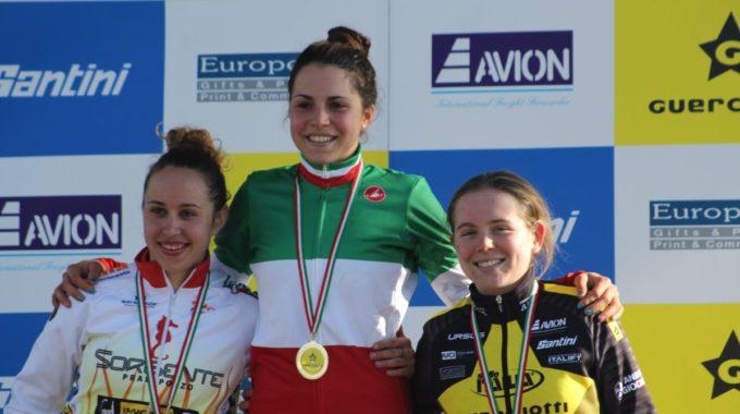 SARA CASASOLA CAMPIONESSA ITALIANA UNDER 23 DI CICLOCROSS